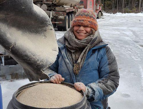 Homemade DIY Grain Bins Part 1