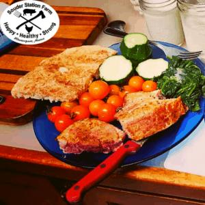 Pastured Pork Sampler Meals Souder Station Farm