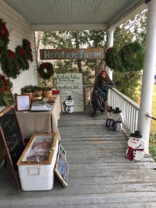 A chilly Saturday morning at The Krafty Flea!